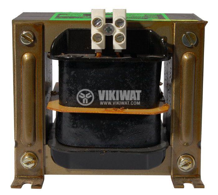 Shell Type Transformer, 230 VAC / 110 VAC, 150 VA - 4