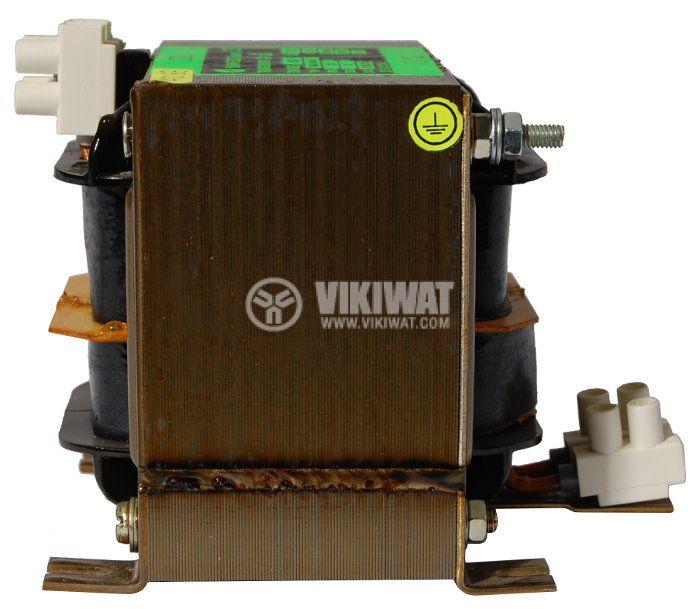 Shell Type Transformer, 230 VAC / 110 VAC, 250 VA - 2