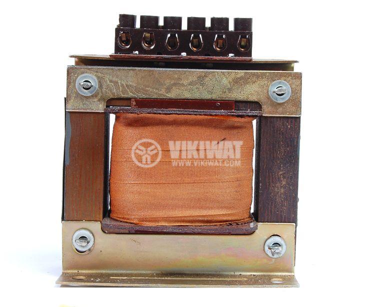 Ш - образен трансформатор 380 - 220 / 24 VAC, 80 VA - 1