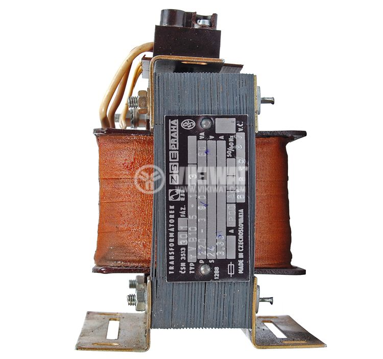 Ш - образен трансформатор 380 - 220 / 24 VAC, 80 VA - 2