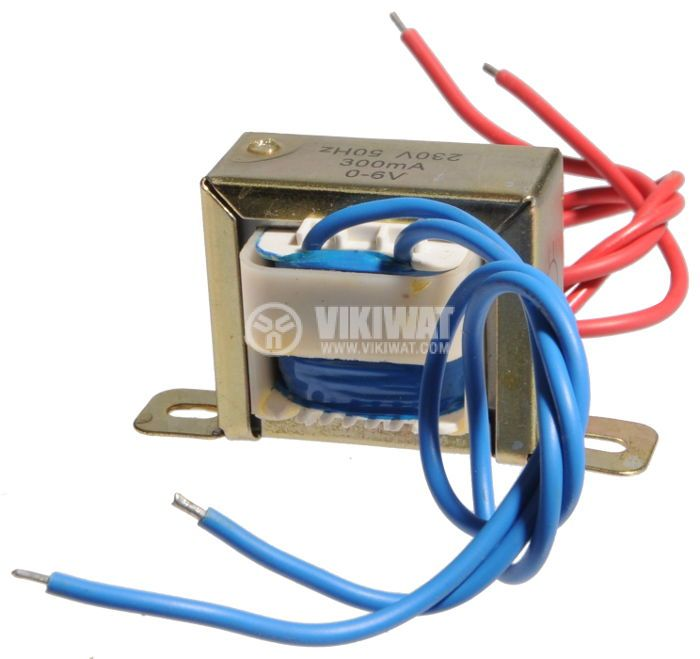 Трансформатор 220 / 6 VAC, 1.8 VA - 1