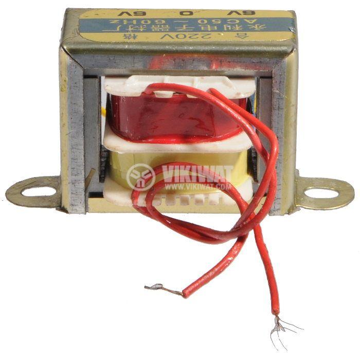 Трансформатор 220/2 x 6 VAC, 1.8 VA - 2