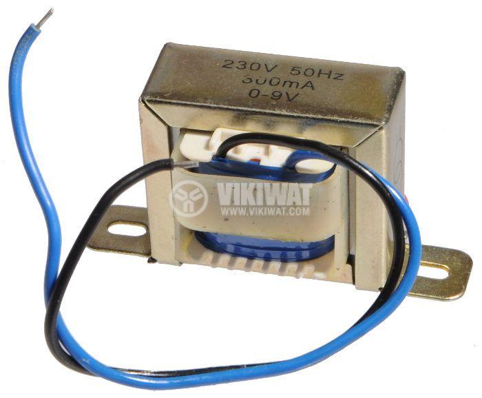 Трансформатор 220 / 9 VAC, 2.7 VA - 2