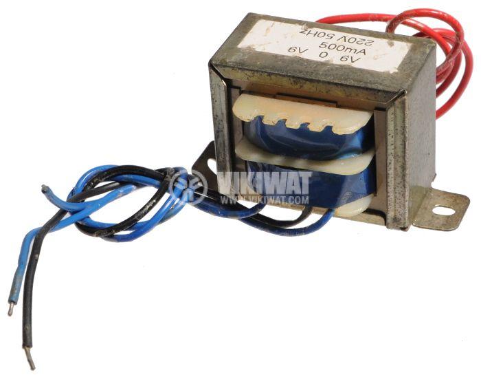 Трансформатор, 220/2 x 6 VAC, 6 VA - 2