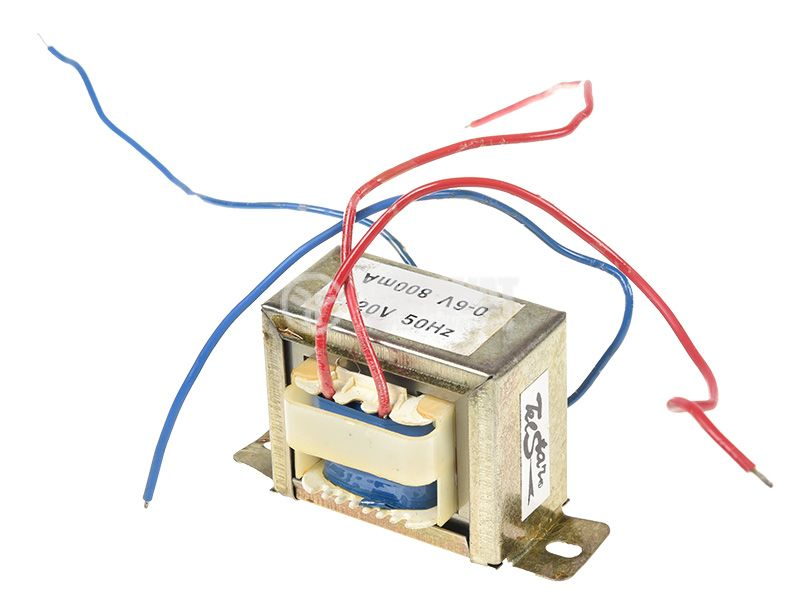 Трансформатор 220V/6VAC, 4.8VA - 1