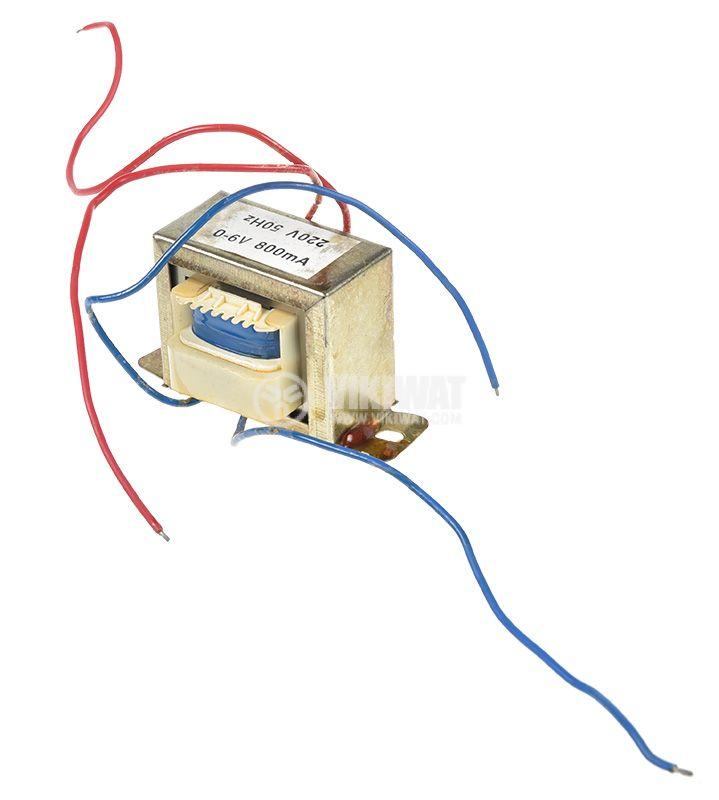 Трансформатор 220V/6V, 4.8VA - 2