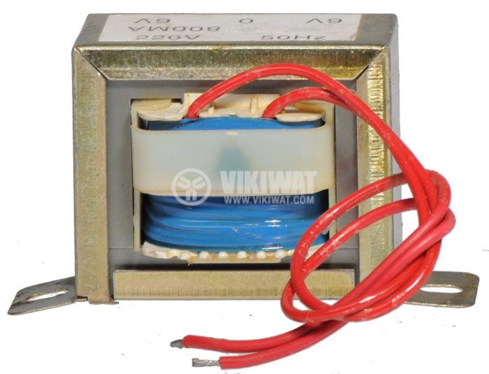 Tрансформатор 220 / 2 x 6 VAC, 4.8 VA - 1