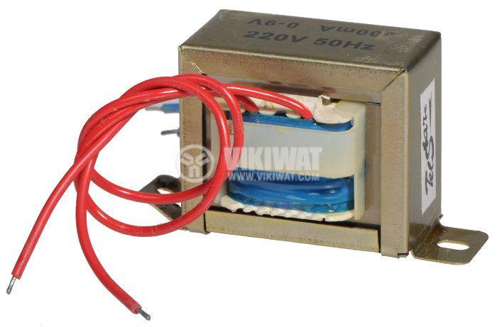 Трансформатор 220 / 9 VAC, 7.2 VA - 1