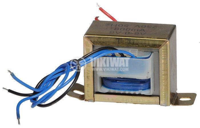 Трансформатор 220 / 2 x 9 VAC, 7.2 VA - 1