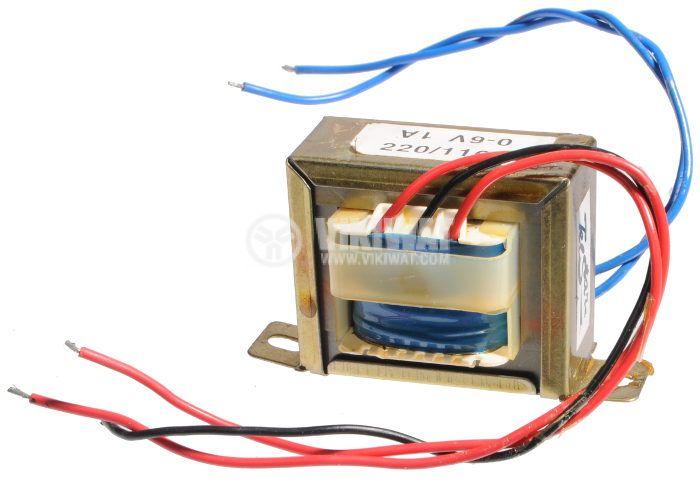Трансформатор 220 / 6 VAC, 6 VA - 1