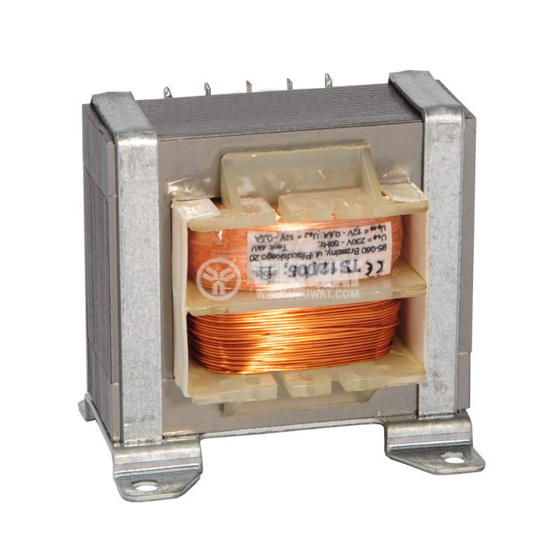Трансформатор 230/2x12VAC, 12VA - 1
