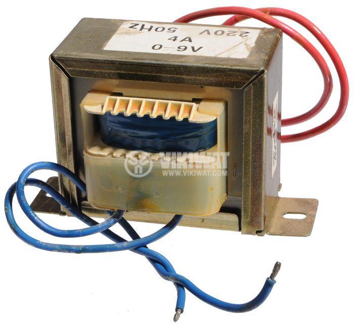 Трансформатор 220 /  9 VAC,  36VA - 1