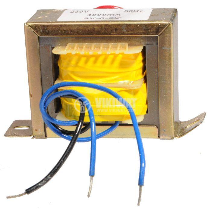 Трансформатор 230 / 2 x 9 VAC, 36 VA - 1