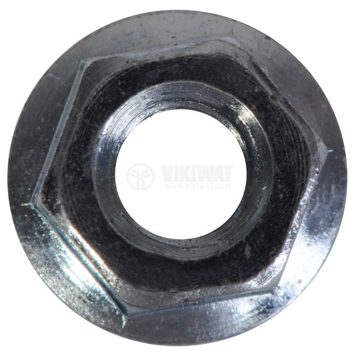 Flange nut M6 with built-in washer - 1