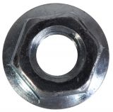 Flange nut M10 with built-in washer