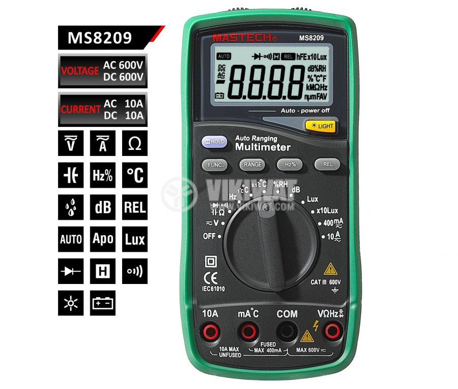 Voltmeter MS8209 - 5