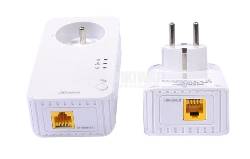 Комплект за мрежова връзка през електрическата мрежа 500Mbit/s, STRONG - 3