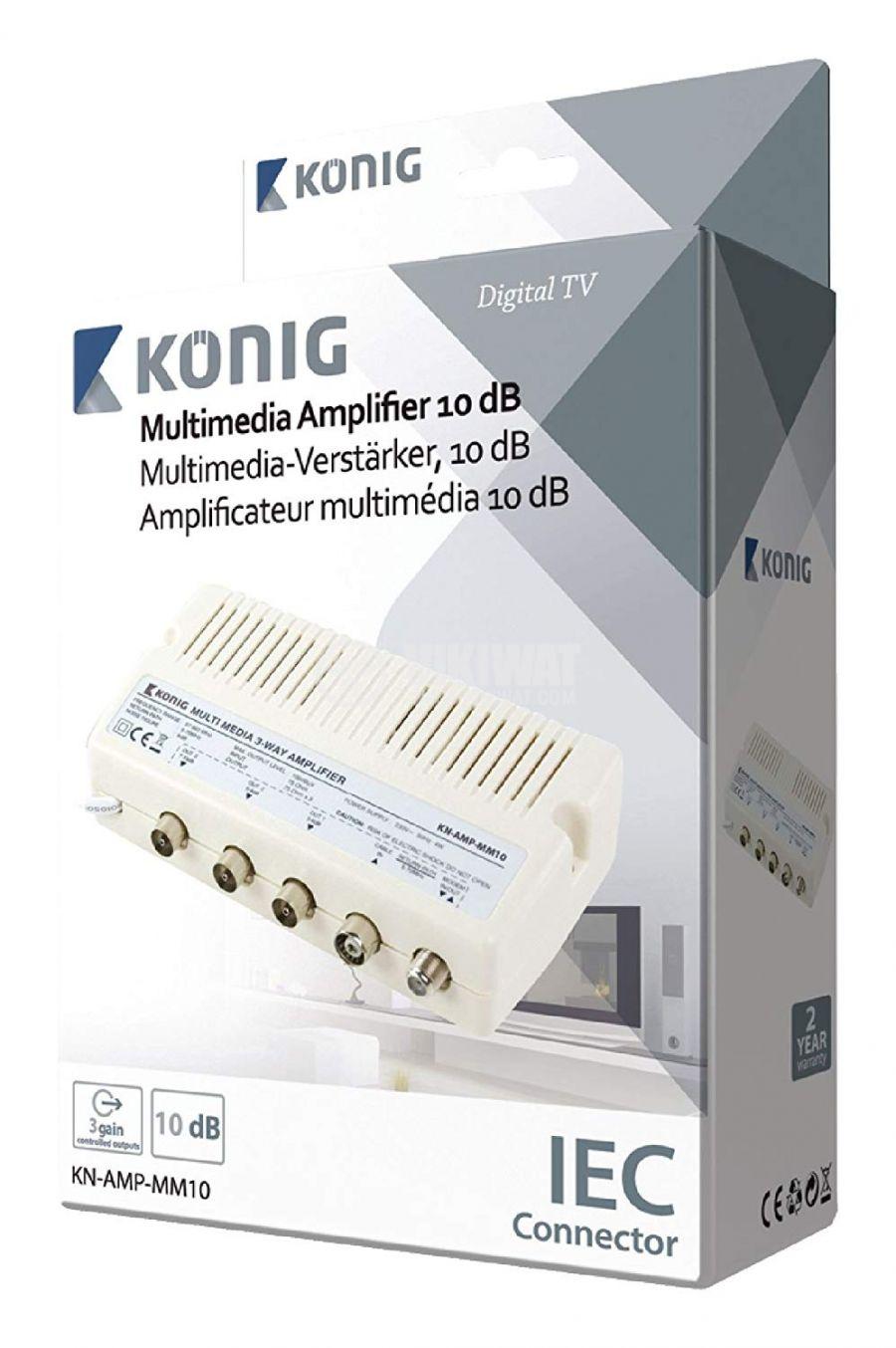 Amplifier UHF/VHF/FM TB-303 - 2