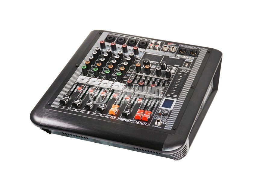 Професионален миксер MPX-4200UB, 4-канален, Bluetooth, USB, MP3, FM радио, 2х340W/4ohm - 1