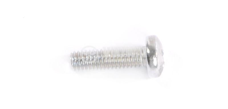 Screw, bolt, M4x14mm, semi-round