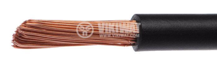 Проводник кабел ПВ-А2 1x2.5mm2 черен