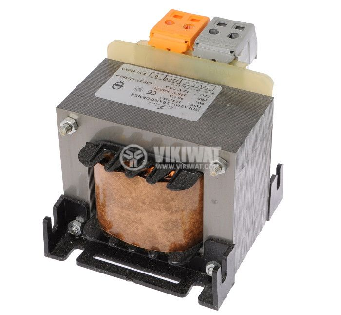 Shell Type Transformer 90 VA, 220/12 VAC - 2