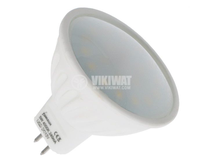 LED Lamp GU5.3, 5W, 12VDC - 4
