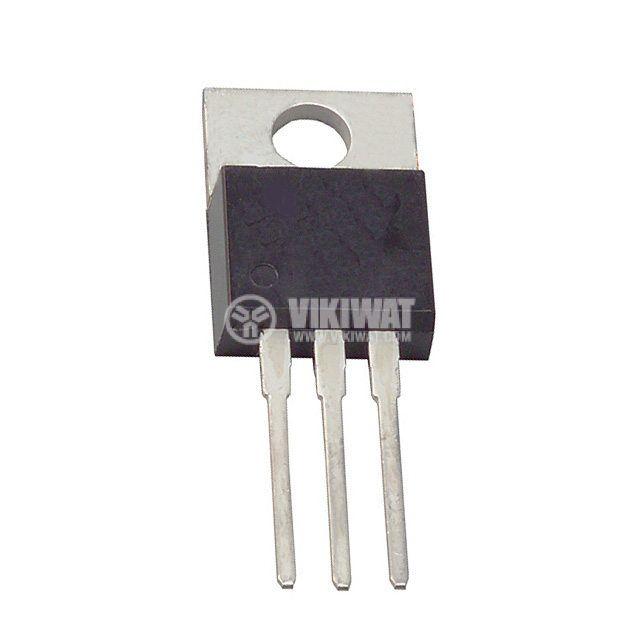 Транзистор IRF720PBF, MOS-N-FET, 400 V, 3.3 A, 1.8 Ohm, 50 W , TO220