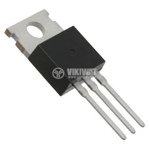 Транзистор IRF530, MOS-N-FET, 100V, 17A, 90mOhm, 70W