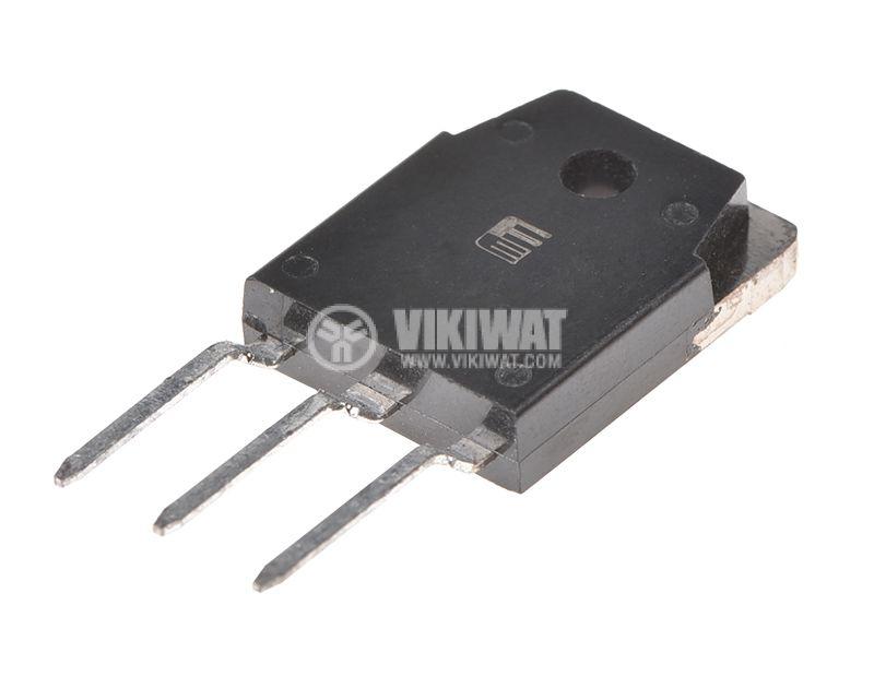 Транзистор 2SK727, MOS-N-FET, 900 V, 5A, 125 W, 2 Ohm - 1