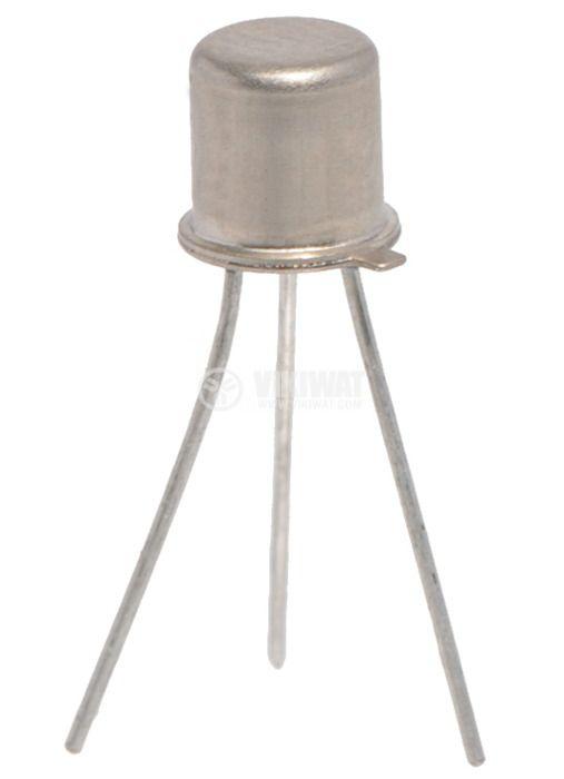 Транзистор KП303Е, N-FET, 30 V, 20 mA, 200 mW, TO18