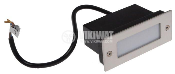 LED осветително тяло BT30-0130, 1.5W, 220-240VAC, IP54, 3000K, за вграждане