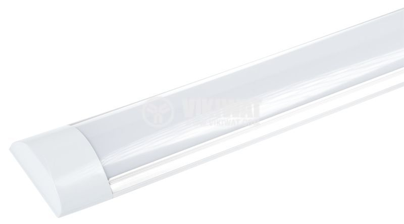 LED panel 6W, 12V, 6400K, cool white, IP20, non-waterproof, surface mounting, 410x76mm, HX-836 - 1