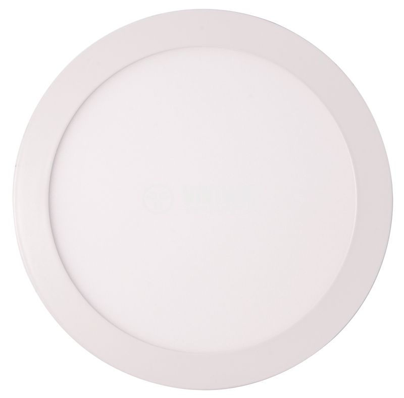 LED panel BP03-31810, 18W, 220VAC, 4200K, neutral white, ф220mm, surface mounted - 3