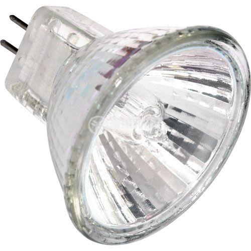 Халогенна лампа MR11, G4, 12V, 10W, 3000K, мини, закрита