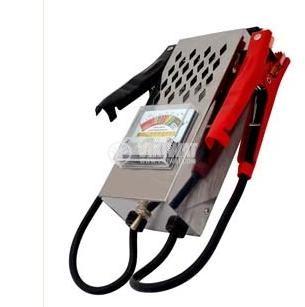 Analog battery tester, W 2654, 6/12VDC, 100A - 2