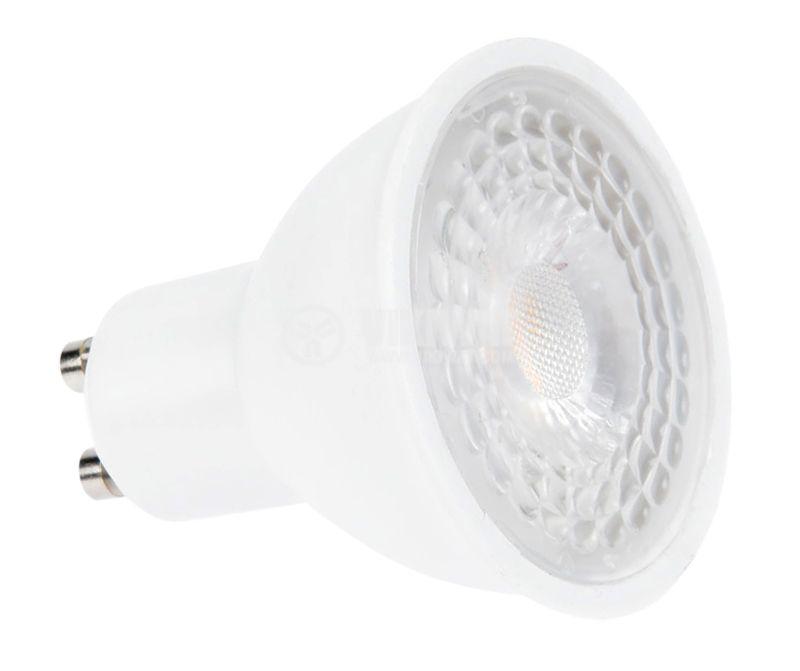 LED лампа 5W, GU10, 220VAC, 4200K, неутралнобяла, BA25-00551 - 5