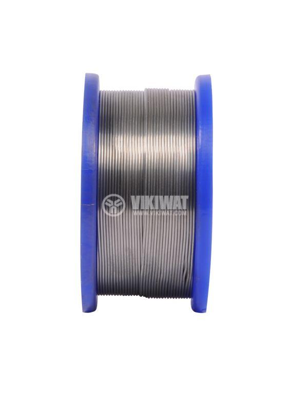 Solder wire Ф0.7 mm, 0.250 kg pack - 2