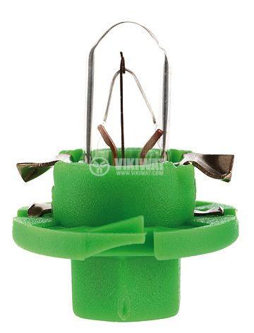 Auto filament lamp, BX8.4d, 12V, 1.5W - 1