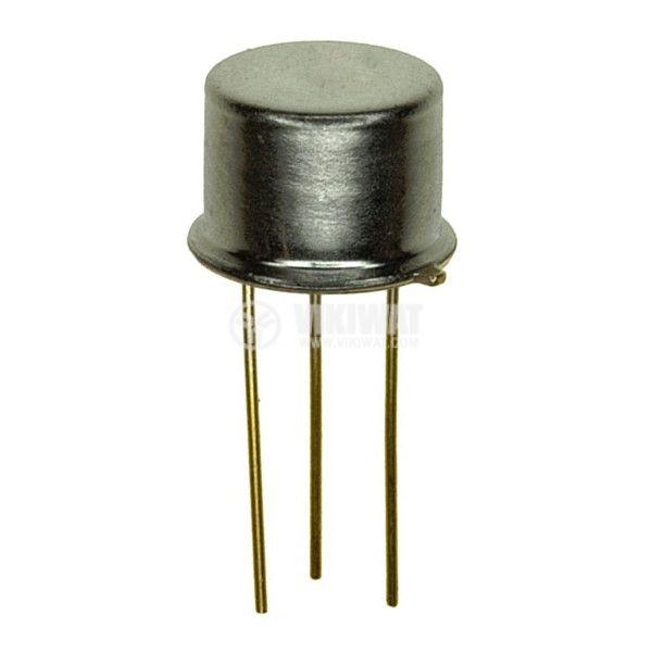Транзистор BF257, NPN, 160 V, 0.1 A, 0.2 W, 90 MHz, TO39
