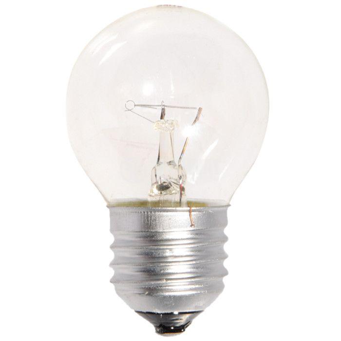 Обикновена лампа 240 VAC, 25 W, E27, тип сфера, мини