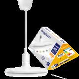 LED bulb UFO, 32W, E27, 2500lm, 4200K, natural white, BB01-03221, white body