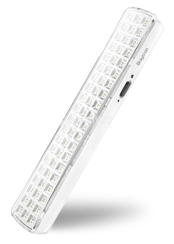 Emergency LED lamp 4W, 220VAC, 6400K, cool white, BM60-60LED, BC01-0320 - 1