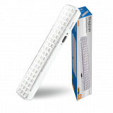 Emergency LED rechargeable lamp 4W, 220VAC, 6400K, cool white, BM60-60LEDs, BC01-00330
