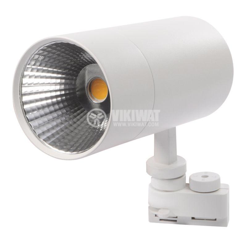 LED прожектор 2350lm, топлобяла - 4