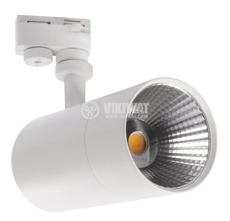 LED прожектор 30W, 3000K, топлобяла - 6