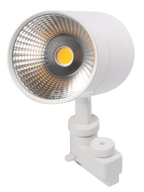 LED прожектор 3000K, 2350Lm, топлобяла - 10