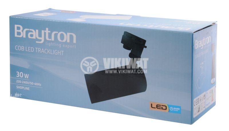 LED прожектор 3000K, 2350Lm, топлобяла - 13