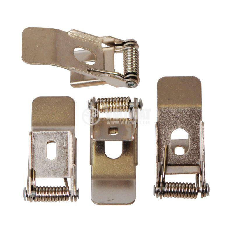 Кит за вграждане на LED панел BX01-0102, 4бр. щипки - 1