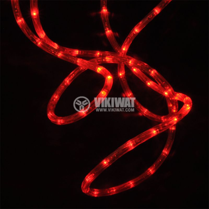 LED hose, red, 24LED / m, 10m, 19.2Wmax, 220VAC, IP44, waterproof - 3